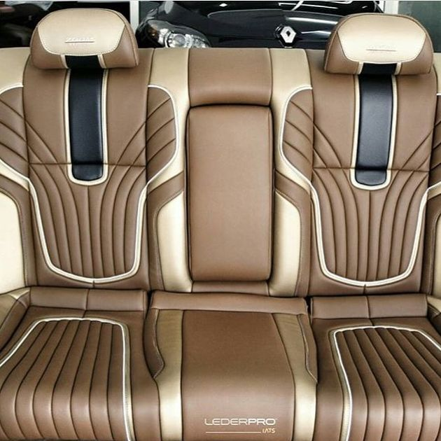 Awesome Design On This Seat By Official Lederpro Thehogring Handmade Autoupholstery Upholstery Sewing Stit Gmc Trucks Car Upholstery Custom Car Interior