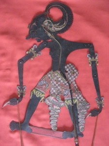 Werkudara with black body #wayang #java #puppet #kulit #javanese #jawa #werkudara #bima