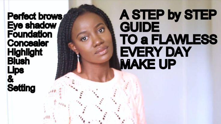 MY FLAWLESS EVERYDAY MAKE UP ROUTINE