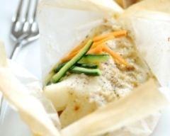 Papillotte de cabillaud (facile, rapide) - Une recette CuisineAZ