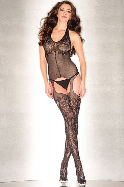 Be Wicked 91 Body Stocking Queen  Be Wicked 91 Body Stocking Queen  Be Wicked Lingerie 91 Body Stocking Queen Black. Plunging floral fishnet suspender body stocking. Please note thong not included. One size queen. Color Black.Sexy Wear > Lingerie > Bodystockings Pantyhose & GartersView ItemPrice: $21.99