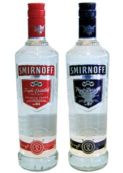 Top 10 Most Popular Vodka Brands in the World: SMIRNOFF
