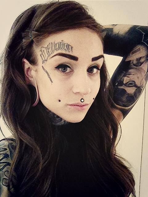 #tattoo #face #art