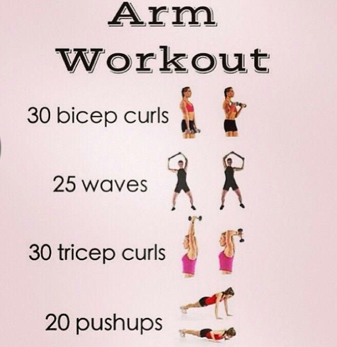 Easy/beginner arm workouts :)