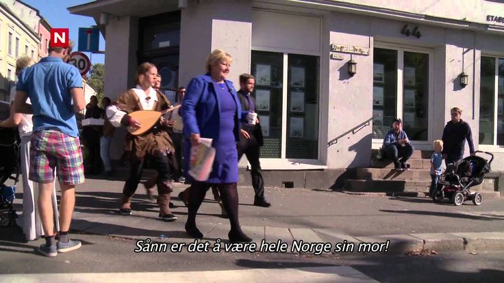 Ylvis - Norges statsminister Erna Solberg [English subtitles]
