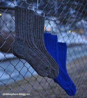 Jeg har tidligere langt ut min egen oppskrift på herresokker. Sokkene slo veldig an, derfor har j...