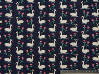 Swans a Swimming - Blauw