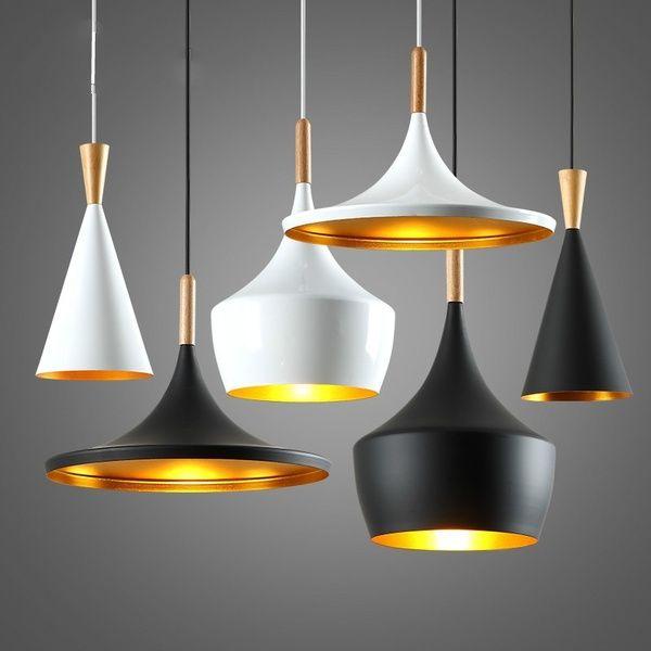 Modern Pendant Light Metal Lamp E27 Socket Loft Hanging Light Fixture Industrial Lighting Simple Pendant Lighting Ceiling Lamp Chandelier Light Shade Fixture Co Modern Ceiling Light Glass Ceiling Lamps Ceiling Lights