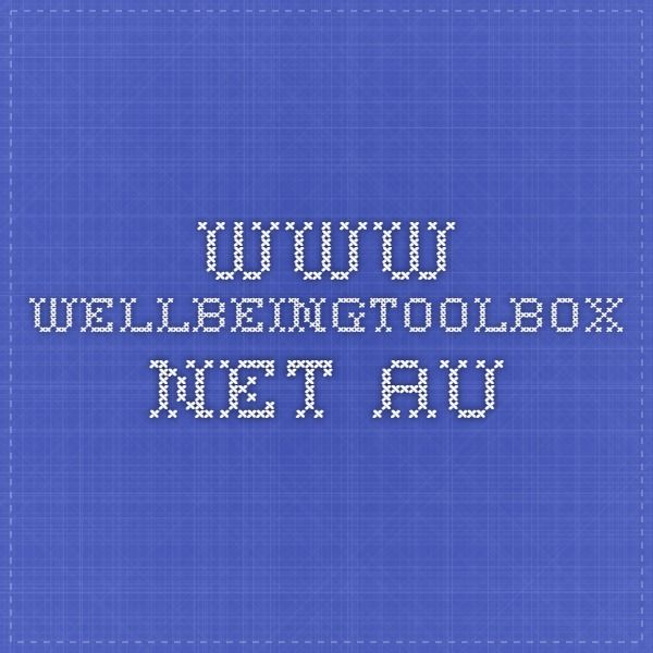 www.wellbeingtoolbox.net.au