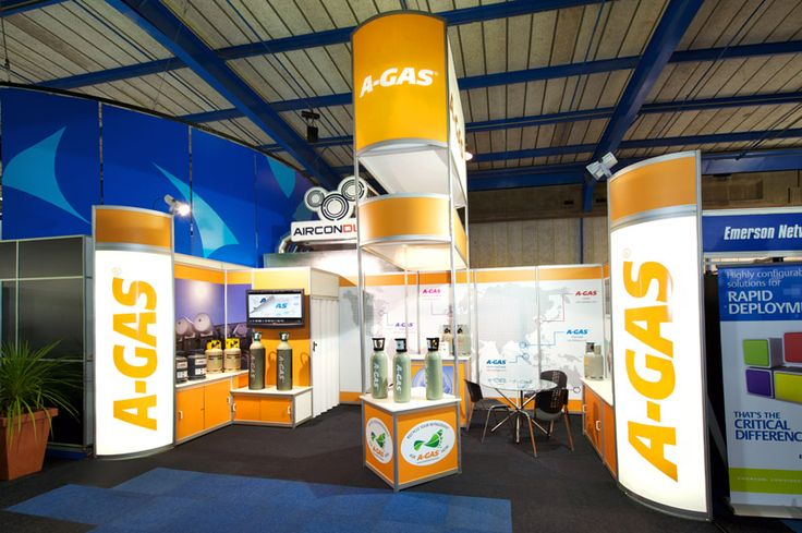 Exhibition Stand South Africa : A gas system exhibition stand m interbuild frigair
