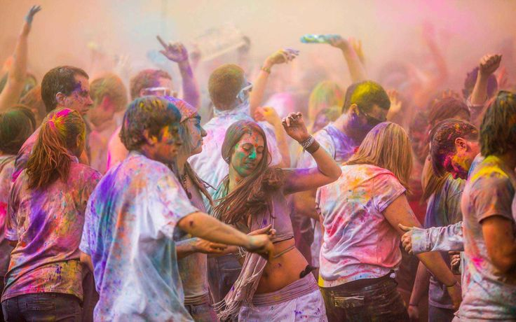 Celebrate Holi 2017! Nepals Most Colorful Festival