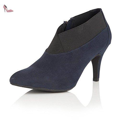 Visco, Sandales Bout Ouvert Femme, Bleu (Jeans Blue), 39 EULotus