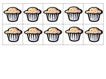 IF YOU GIVE A MOOSE A MUFFIN - free counting muffins