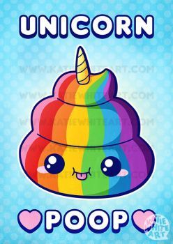 Image result for unicorn poop