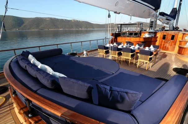 Holiday ideas for some R & R in the Eastern Mediterranean (photo: Clear Eyes Sailing Yacht)