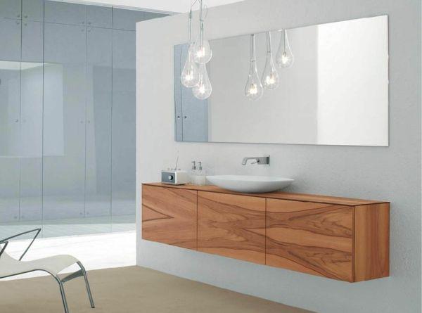 Yli tuhat ideaa Badezimmerschrank Holz Pinterestissä Puu - badezimmer kommode holz