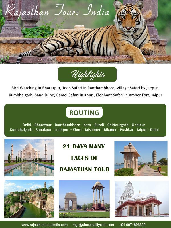 21 Days Many Faces Of Rajasthan Tour Desert Tour Tours Richest