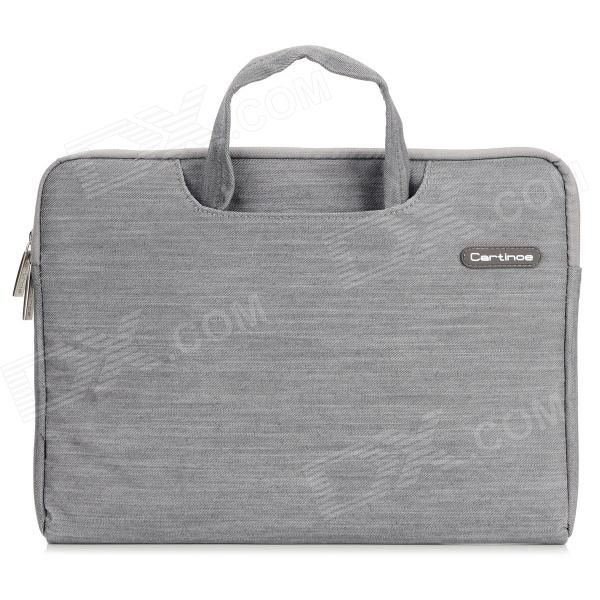 """Cartinoe Classic Jeans Laptop Inner Bag for Apple MacBook Ai r/ Pro 13.3"""" Tote Bags Unise - Grey Price: $21.15"""
