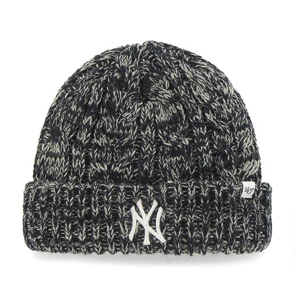 37ef9e7c5f7 ... amazon new york yankees womens 47 brand navy prima cuff knit hat 2a33e  13a60