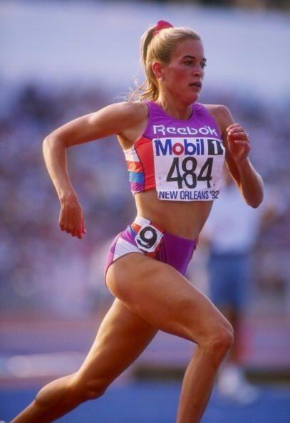 Suzy Favor Hamilton - American athlete .