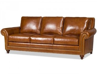 Etonnant Bradington Young Watson Leather Sofa. Custom Made In The USA! : Leather  Furniture Expo