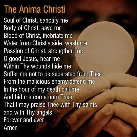 Catholic Communion Prayer