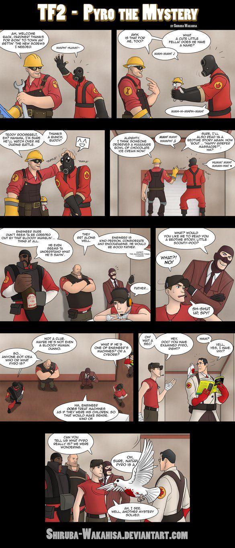 Team Fortress 2 - Pyro the Mystery by Shiruba-Wakahisa on DeviantArt