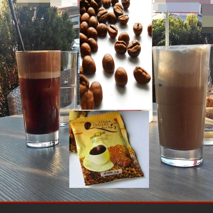 Summer Coffee Instant Lingzhi Healthy Ganoderma Hot in Cup Cold In Glass  #SummerCoffeeInstant