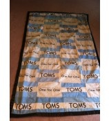 One day I will have enough to make a blanket from my TOMS flags.