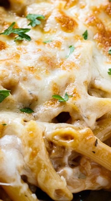 French Onion Pasta has all the flavors of French Onion Soup but in casserole form.