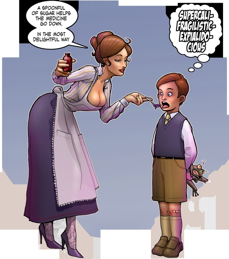 Mary Poppins - Medicine by pinup-guy.deviantart.com   Good ...