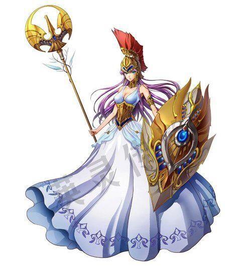 Athena another costume fanart