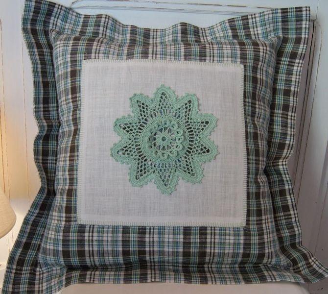 "Poduszka dekoracyjna ""Crochet"""