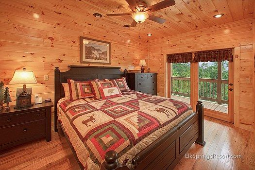 red oak flooring with knotty pine walls elk springs gatlinburg pine interior pinterest. Black Bedroom Furniture Sets. Home Design Ideas