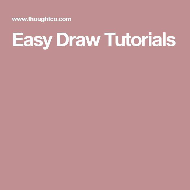 Easy Draw Tutorials