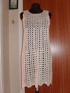 Ninas Blogg-Hörna: Virkade klänningar