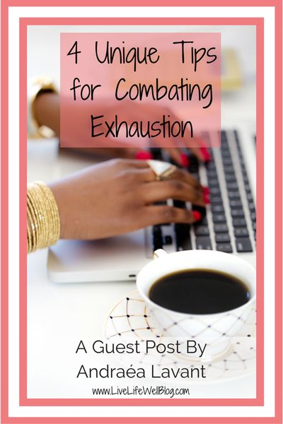 Burnout is REAL! Check out these 4 unique amazing tips for combating exhaustion.