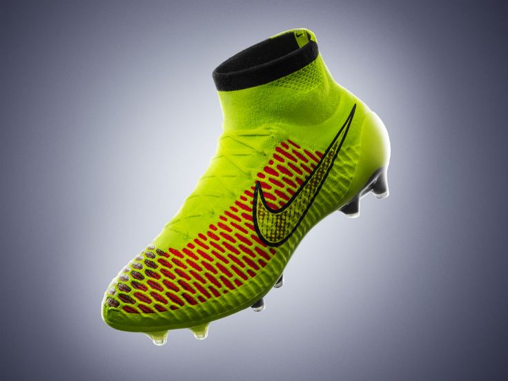 Soccer boots that fit like a shoe.