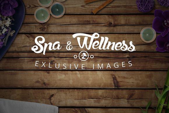 Spa & Wellness Header Images by Kahuna Design on @creativemarket
