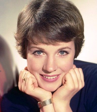 Julie Andrews   If I ever got my hair cut short, it would be like this.