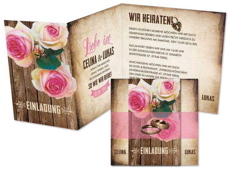1000+ images about Hochzeitseinladungen on Pinterest  Cappuccinos ...