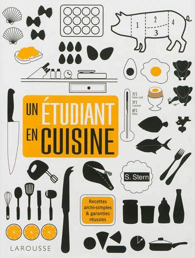 Un étudiant en cuisine -  Stern  Sam - Librairie Mollat Bordeaux #cuisine #cook #cooking #book #livre #mollat