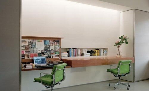 modern home office by Roger Hirsch Architect: Modern Home Offices, Floating Desk, Desks, Desk Ideas, Photo, Modern Homes, Bureau
