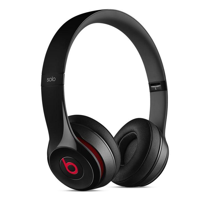 Sluchátka Beats Solo2 On-Ear – leskle černá - Apple (CZ)