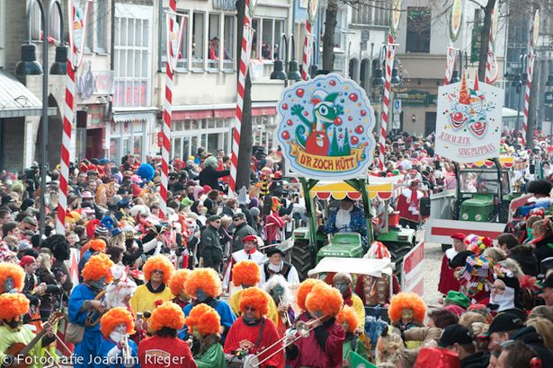 Rosenmontag at Karneval in Köln, Germany; like Halloween in the states, but way way better