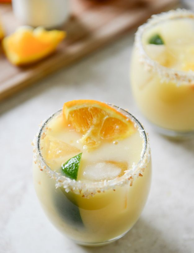 13 Boozy Creamsicle Cocktails That Aren't Totally Stupid.  I want one of each NOW!