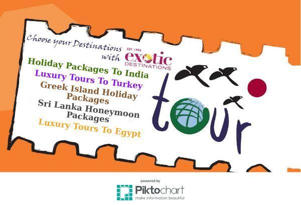 Exotic Destinations Tous Packages