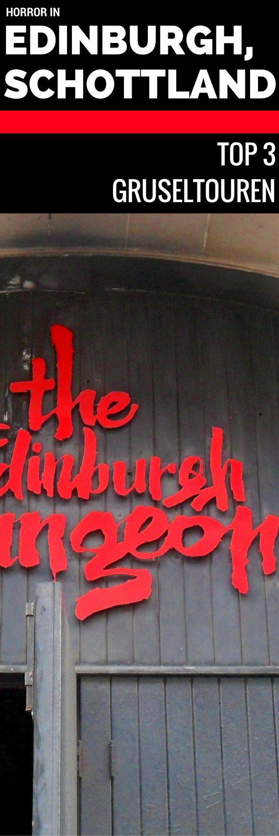 Edinburgh Dungeons, Closes und Undergrounds – Die 3 besten Gruselmöglichkeiten