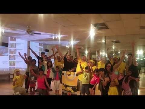 Dance Tips - Video :  Tiki tiki babeloo zumba minions  Tiki tiki babeloo zumba minions  Video  Description Coreografia oficial De la cancion cholo-minions hoy nos invtaron a bailar la nueva coreografia de @zumba de la pelicula @despicableme 3 #tikitikibabeloo  mil gracias a @universalstudios por la invitacion y a @djgeraldo  por la musica... #Videos https://fitnessmag.tn/videos/dance-tips-video-tiki-tiki-babeloo-zumba-minions/