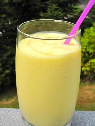 Mango Milkshake (Malteada de Mango)